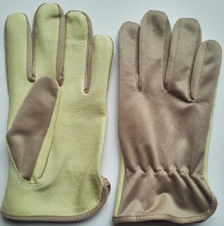 Goatskin Assembly Gloves Garden Gloves 4