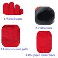 Excellent Cowhide MIG welding gloves 2