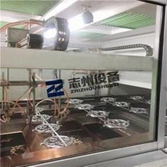 五金鋁配件窗花門花工藝品噴漆流水線 全自動UV漆噴塗