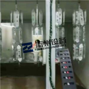 鎖具旋杯自動靜電噴塗線 上下往復機自動噴塗機 2