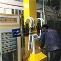 五金鎖具自動噴塑烘道流水線 門鎖自動噴塗線 3