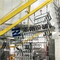 五金鎖具自動噴塑烘道流水線 門鎖自動噴塗線 4