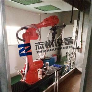 展具機器手噴塗流水線 懸挂式機器人噴漆生產線  1