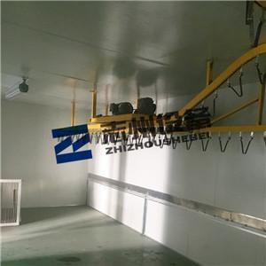 展具機器手噴塗流水線 懸挂式機器人噴漆生產線  5