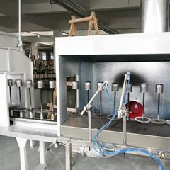 濾清器自動噴粉烘道流水線 汽摩配自動噴粉烘道生產線