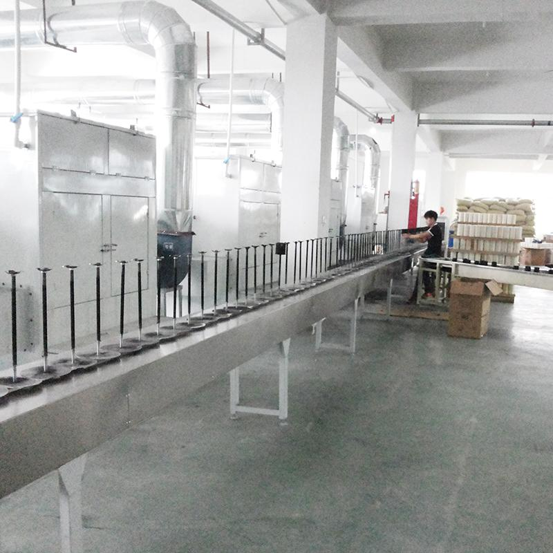 濾清器自動噴粉烘道流水線 汽摩配自動噴粉烘道生產線 5