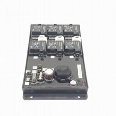 三相380V12P空调软启动不需要交流接触器