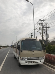 日本产丰田考斯特29座二手小巴士