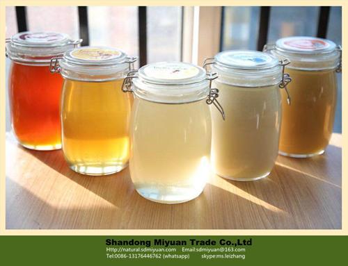 China raw organic honey pure amber bee honey - MR - Miyuan (China