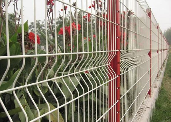3D Wire Mesh Fence 2