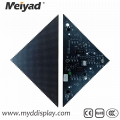 P4 Indoor Triangle LED Display Screen