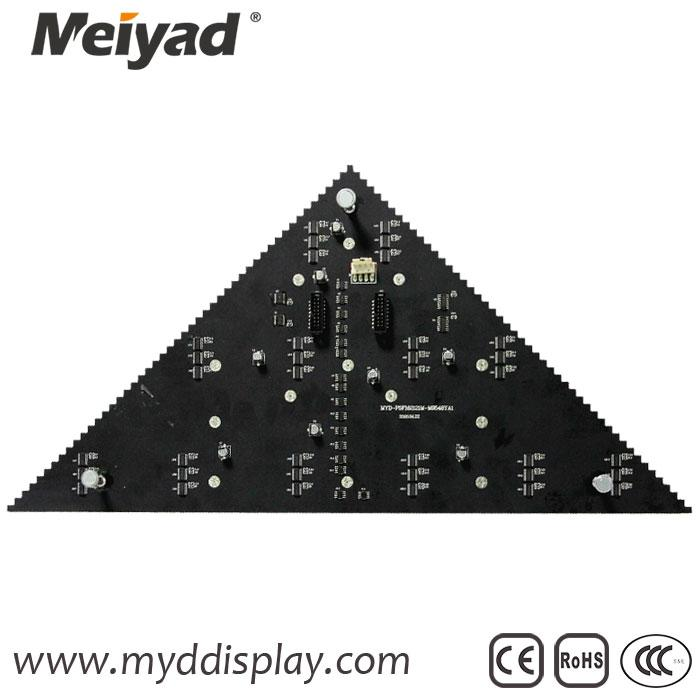 P5 Customized Triangle LED Display 336mm*475mm*240mm 4