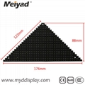 P4 Indoor Triangle LED Screen 122mm*176mm*88mm 2