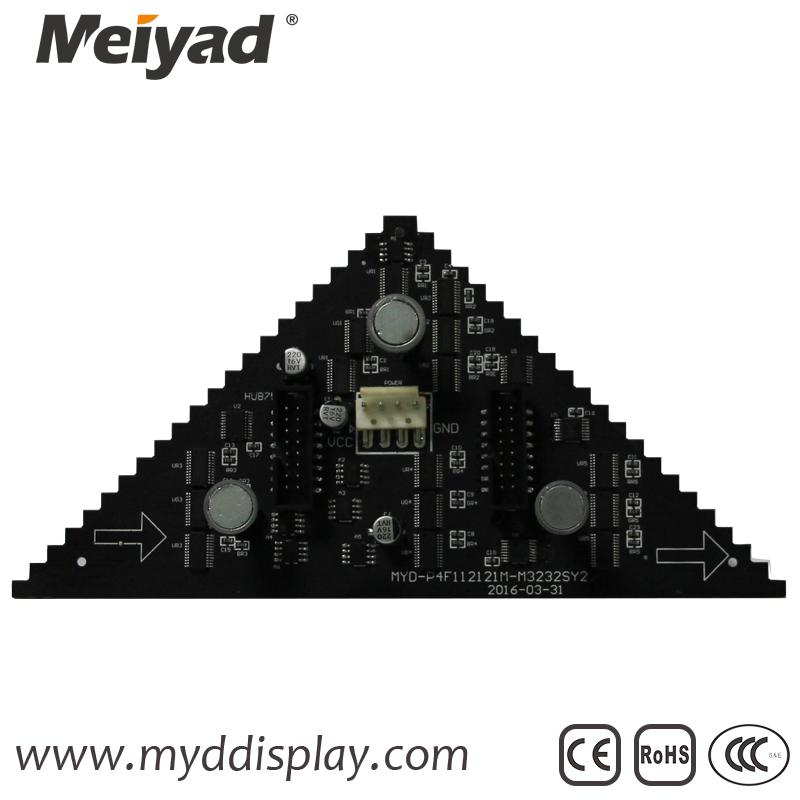 P4 Indoor Triangle LED Screen 122mm*176mm*88mm 4