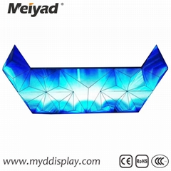 P4 Indoor Triangle LED Screen 122mm*176mm*88mm