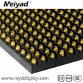 32*16 Single Color Yellow P10 Outdoor LED Screen Module 4