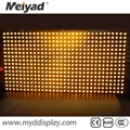 32*16 Single Color Yellow P10 Outdoor LED Screen Module 5