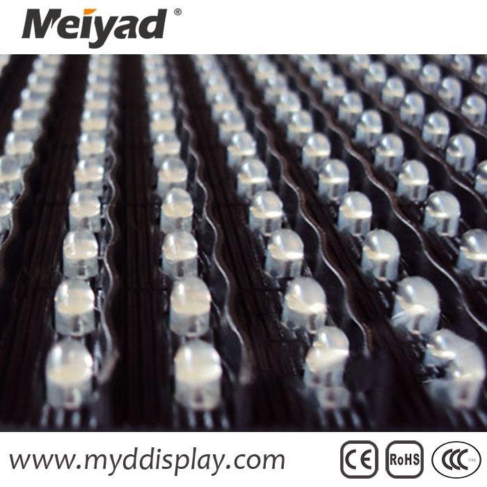 320X160 DIP P10 White Single Color LED Display 4