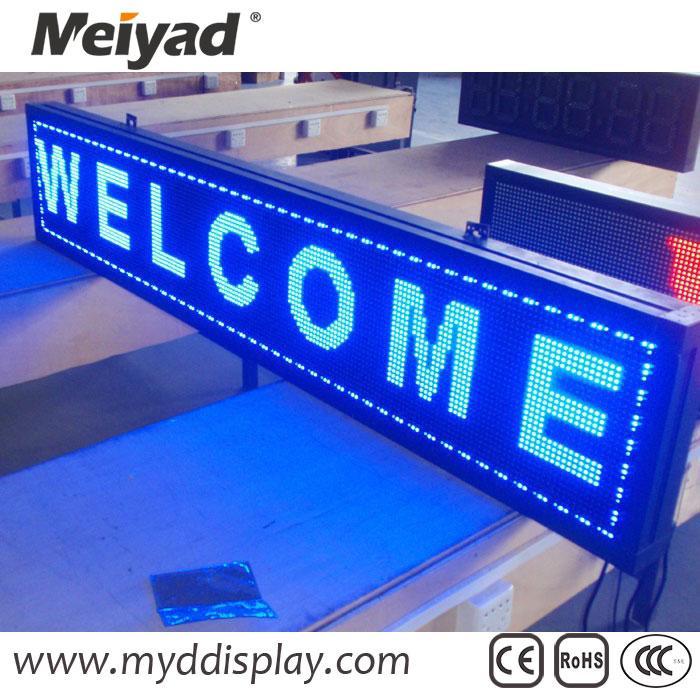 Blue Single Color 32*16 P10 Outdoor LED Module 3