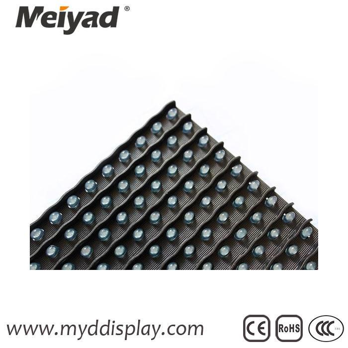 Blue Single Color 32*16 P10 Outdoor LED Module 4