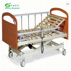 Hot Sell electric 3 functions nursing bed with MDF head & foot board