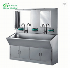 Medical One Seat Hand Wash Stainless Steel Sink with best service