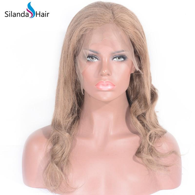 Body Wave #8 Brazilian Remy Human Hair Handmade Full Lace Wigs 1