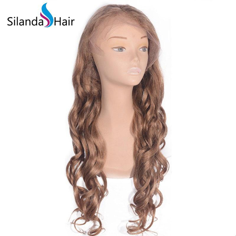 #27 Loose Wave Brazilian Remy Human Hair Lace Frontal Wig 1