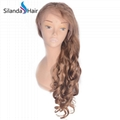 #27 Loose Wave Brazilian Remy Human Hair Lace Frontal Wig 4