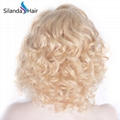 Remy Loose Wave Brazilian Human Hair #613 Lace Frontal Wigs 5