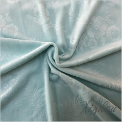 china-made polyester printed supersoft short plush fabric for gar