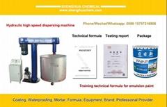 Hydraulic High Speed Dispersing Machine