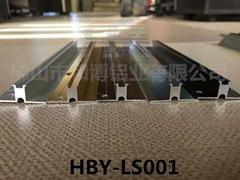 和博鋁業商業空間牆板收邊HBY-QB-001