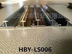 和博商業空間牆板裝飾條HBY-QB-006