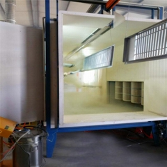 CE Approved China Supply Powder Coating Spray Booth Equipment
