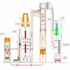 High Recovery Capacity 99.2% Electrostatic Cabinet Powder Spraying Machine