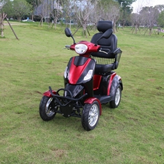 CE new design 4 wheel electric mobility scooter for old and disabled people