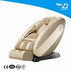 4d luxury L shape  shiatsu vending zero gravity massage chair