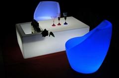 Modern hot sales Led Ice bucket disco wine bar table