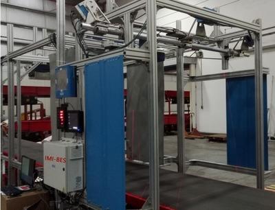 倉庫包裹紙箱體積測量稱重掃碼設備 2