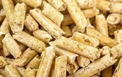 premium pine wood pellets