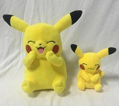 Pokemon Pikachu plush wallet with zipper 11 inch & 6 inch