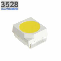 深圳封裝廠供應3528燈珠正白光LED貼片光源