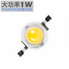 大功率1-3W 仿流明LED燈珠 普瑞白光高質量光源