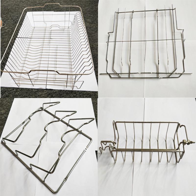 US-3D-606廚房瀝水架線材成型機折彎機 3