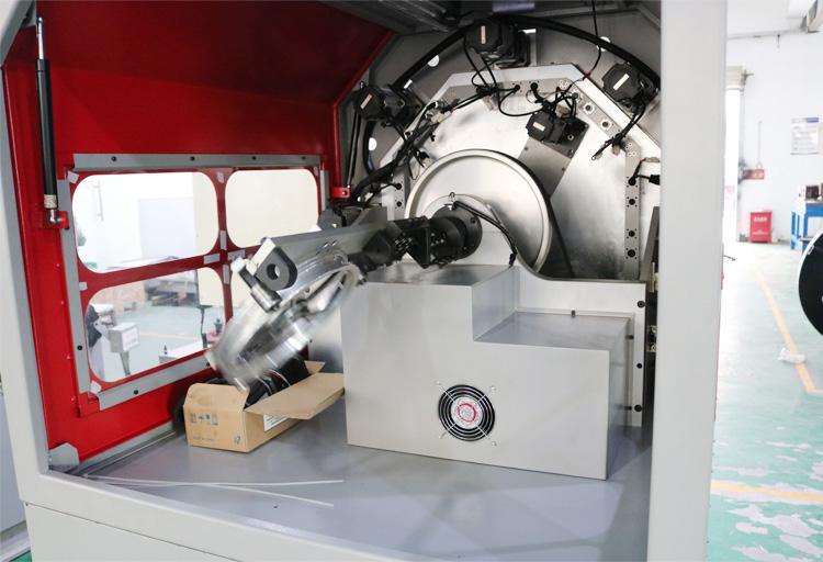 US-236R無凸輪轉線彈簧機後備箱彈簧 4