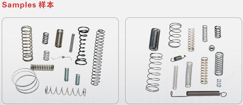 拉力器彈簧電池片彈簧生產專用彈簧機 3