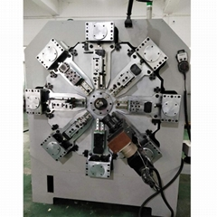 1.2-4.8mm 12 Axes Wire Rotating Spring Forming Machine