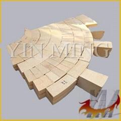 SK35 SK36 SK37 SK38 refractory kiln alumina material hole High Alumina Brick