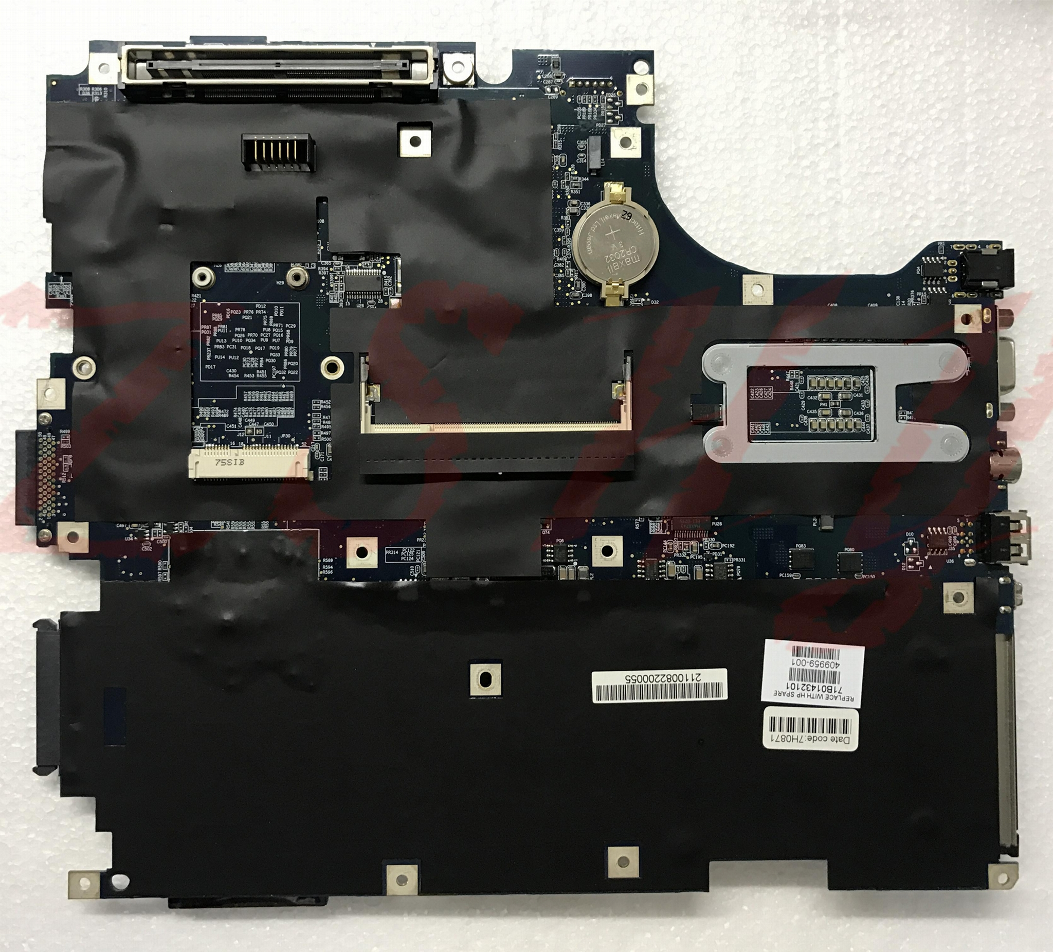 409959-001 motherboard for hp nx9420 nw9440 laptop motherboard ddr2 pm945 Free S 1
